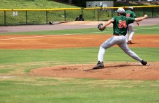FAMU right-handed pitcher Thomas Nicoll.