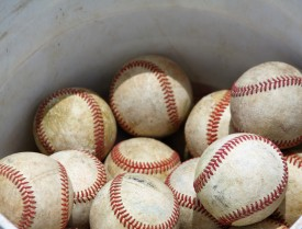 Practice balls.