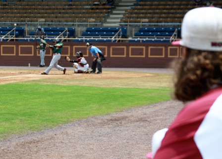 FAMU's Maxwell takes a swing.