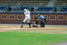 First baseman Zach Michalski - NCCU